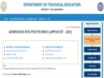 Ap Polycet 2021 Seat Allotment Result Released At Appolycet Nic In