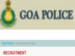 Goa Police Recruitment 2021 For 773 Constable Steno Ldc And Other Posts Apply Before November