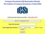 Icsi Cs Result 2021 Declared For Foundation Executive Professional Courses At Icsi Edu