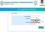 Ts Intermediate 1st Year Hall Ticket 2021 Released At Tsbie Cgg Gov In Here S How To Download