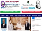 Periyar University Result 2021 Declared For UG And PG April Exams
