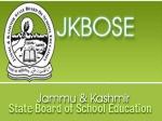 JKBOSE Class 12 Date Sheet 2021: Check JKBOSE Class 12 Board Exam Date Sheet For WZ Jammu And Kashmir Division