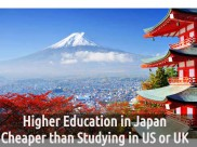 Higher Education in Japan Cheaper than Studying in US or UK