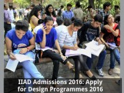 IIAD Admissions 2016: Apply for Design Programmes 2016