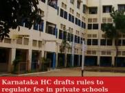 Karnataka HC drafts rules to regulate fee in private schools