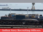 Indian Navy officers recruitment