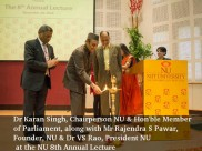 NIIT Univ highlights many dimensions of Peace at the Eighth Annual Lecture