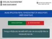 Assam Police Recruitment 2019: Apply Online For 597 Sub Inspectors (UB) Post Before November 30