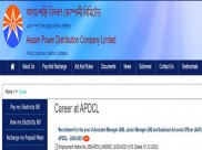 APDCL Recruitment 2020 For 376 Assistant Manager (AM), Junior Manager (JM) and Assistant Accounts Officer (AAO) Posts