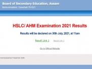 SEBA Result 2021: Check Assam HSLC Result 2021 Link And Download Marksheet