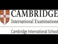Cambridge international school exams in March