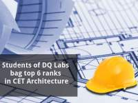 Students of DQ Labs bag top 6 ranks in CET Architecture
