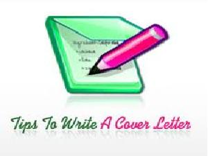 A CV's Cover Letter-A First Impression