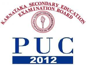 Karnataka Second PUC 2012 Exam Details