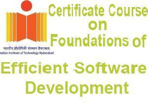 IIT Hyderabad Offers Certificate Course
