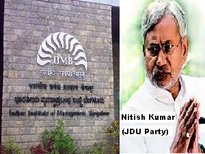 IIM-B Student To Join Nitish Kumar (JDU)