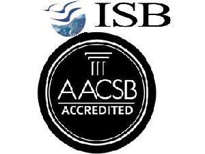 ISB Gets Global Recognition- AACSB