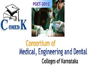 COMEDK Conducts PGET-2012 on Feb 12