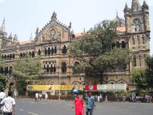 Protest Against Act Of Mumbai University