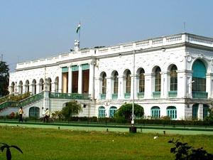 Elevation Of National Library, Kolkata