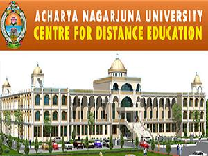 Admissions Open at ANU, Guntur