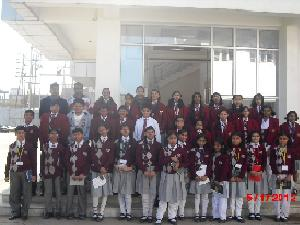 Sagar Public School Students Meets Press