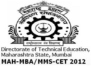 DTE Conducts MAH-MBA/MMS-CET-2012
