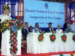 Inauguration of New Campus For GNLU