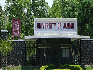Admission Open at University of Jammu
