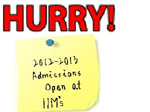 Increased Intakes In IIMs. Hurry!!