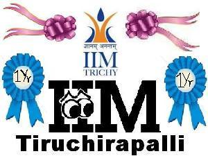 IIM-Tiruchirapalli Completes One Year