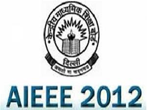 AIEEE 2012 Entrance Exam Dates