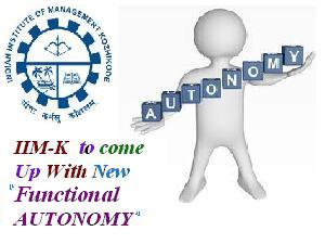 New Functional Autonomy In IIM-K