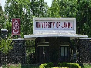 Admission Open at Jammu University