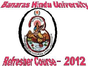 Refresher Course In Banaras University