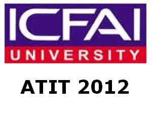 ATIT 2012 on May 05 By ICFAI University