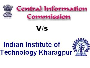 IIT Kharagpur and CIC Over GATE Scores