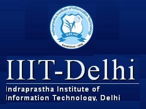 Ph.D in CS / IT at IIIT, Delhi
