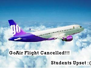 Students Grief For Flight Cancellation