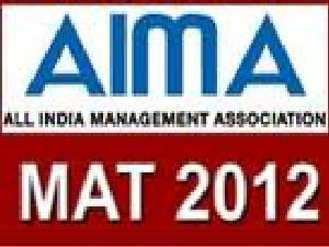MAT 2012 on May 06