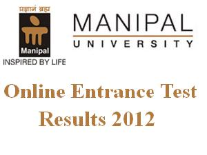 PG Medical & Dental Entrance 2012 Result