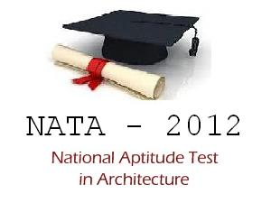 NATA 2012 Applications are Available