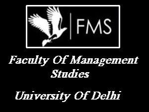 MBA Part Time Programme At FMS, DU