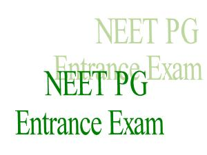 India To Go Up For NEET Entrance Exam
