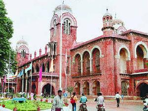 Admission Open at Madras University