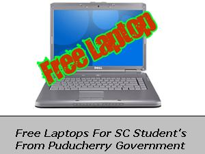 Free Laptops For SC Students