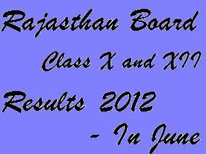 RBSE Results 2012 To Be Declared In June