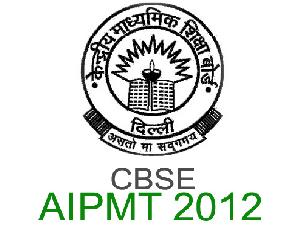 AIPMT 2012 Entrance Exam Results