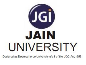 B.E Admission at Jain University