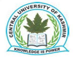 LL.M Admission at CU, Kashmir